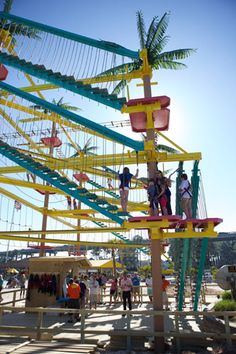 LuLu's Ropes Course, Gulf Shores, Alabama