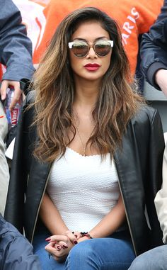 Nicole Scherzinger from The Big Picture: Today's Hot Pics  The Pussycat Dolls alum cheers on her boyfriend Grigor Dimitrov during his match at the French Tennis Open in Paris, France.