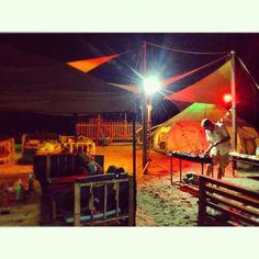 沙灘BBQ來一發#xiamen #beach #bar #sunset #italian #romance#Tom