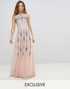 Shop the latest Frock And Frill Premium All Over Embellished Maxi Dress trends with ASOS! Free delivery and returns (Ts&Cs apply), order today! New Frock, Wedding Guest Gowns, Frock And Frill, Prom Dresses, Formal Dresses, Frocks, No Frills, Fashion Online, Asos