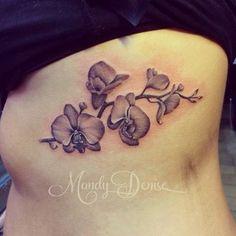 Tattoo inspiration: Orchid tattoo