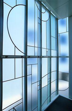 | P | Art Deco Window - Studio Putman