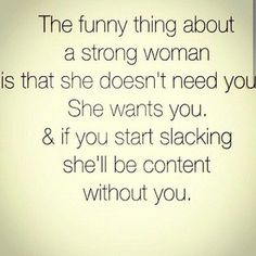 Independent women quote