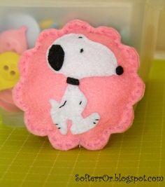 SofterrOr - Realizzata a mano: ♥ compleanno con Snoopy Theme !!! ♥