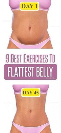 9 Simple and Effective Flat Belly Exercises.