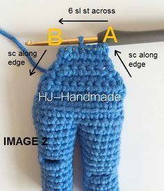 I did change from her low Knitting Dolls Clothes, Crochet Doll Clothes, Crochet Toys, Crochet Baby, Knit Crochet, Doll Amigurumi Free Pattern, Crochet Dolls Free Patterns, Amigurumi Doll, Crochet Stitches