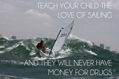 Teach your child the love of sailing!