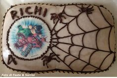 4th Birthday Party - Heroes Cake From the Blog Feste e Sorrisi