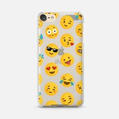 iPod Touch 6 Case Emoji Love Transparent Case - Nour Tohme Ipod Touch Cases, Bling Phone Cases, Ipod Cases, Samsung Cases, Ipod 6th Generation Cases, Emoji Love, Samsung Galaxy S4, Phone Covers, 6 Case