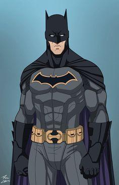 Batman (E-27 edit) Rebirth by phil-cho