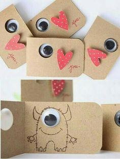 Tarjeta (cute little cards!)