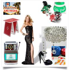 Casino Prom Theme! by rissyroos on Polyvore