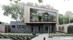www.artbuild.nl  TOED Alkmaar, moderne tandartsenpraktijk. Vooraanzicht