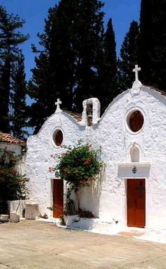 ~Chapel, Samos Island, Greece (by Kurt Sikora)~
