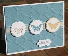 Stampin Up Mosaic Bitty 1