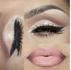 Make up ideas for lips and eyes