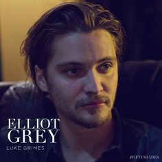 Luke Grimes is Elliot Grey, Christian's funny and laid-back brother. | Fifty Shades of Grey | In Theaters Valentine's Day
