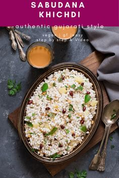 Vegetarian Recipes, Lunch Recipes, Drink Recipes, Indian Food Recipes, Great Recipes, Favorite Recipes, Sabudana Khichdi, Lentil Dishes, Rice Dishes