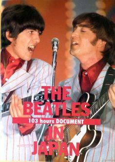 """プロデュース・センター出版局 ビートルズ日本滞在103時間全記録展(THE BEATLES """"103 hours DOCUMENT"""" IN JAPAN)プログラム George Harrison, John Lennon, The Beatles, Peace And Love, Musicians, Tokyo, Instruments, Bands, Japan"""