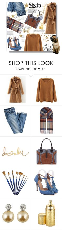 """Hijab"" by sans-moderation ❤ liked on Polyvore featuring Hedi Slimane, WithChic, J.Crew, Johnstons, Creed, hijab and shein"