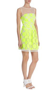 Neon floral dress | Luxury Women's shop_all | Karen Millen