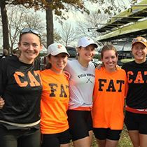 A former college athlete rediscovers the fit life. #princeton #rowing