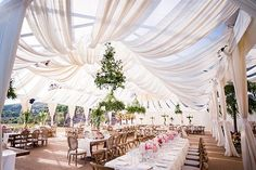 If you are looking for a beautiful tent design for your wedding reception you have found the perfect post! We worked with Reverly Event Designers to create this beautiful tent design for your wedding reception. Wedding Planning Tips, Wedding Tips, Wedding Events, Outdoor Tent Wedding, Budget Wedding, Event Planning, White Tent Wedding, Wedding Planner, Wedding Country