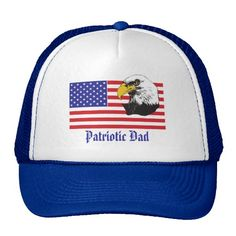 Patriotic Dad/Fathers Day Hat