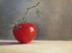 One Tomato, painting by artist Judith Anderson