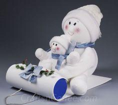 Sock Snowmen - Million Ideas Club | Million Ideas Club