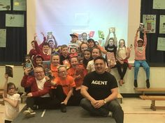were so pleased to welcome their favourite author David Goutcher to their Launch Assembly today! He spent lots of time discussing & sharing spy secrets with pupils & families 📚🌈🌟😎 Primary School, Spy, Families, Product Launch, David, Author, Elementary Schools, Households, 2nd Grades
