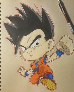 DBS-Mystic Gohan (Universe7) by thesexychurro Anime Chibi, Chibi Goku, Dbs Gohan, Dbz, 7th Dragon, Kid Goku, Ball Drawing, Dragon Ball Image, Cool Dragons