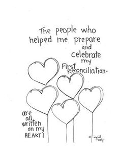 first grade ccd coloring pages | Sacrament of Reconciliation Booklet | Faith Formation ...