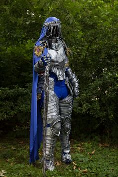 Dancer of the boreal valley armour cosplay from Dark Souls 3