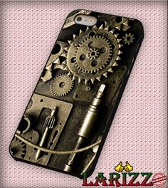 "all steampunk abstract artwork cogs fantasy gears for iPhone 4/4s, iPhone 5/5S/5C/6/6 , Samsung S3/S4/S5 Case ""007"""