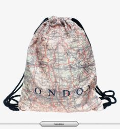 Funny Printing String Backpack
