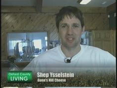 """Gunn's Hill Artisan Cheese has a new wine soaked """"tipsy"""" cheese Rogers TV http://www.tourismoxford.ca/Cheese-Trail/articles/detail/ArticleId/4783/Shep-Ysselstein"""