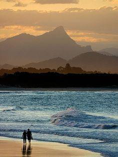 Byron Bay, NSW, Australia. Ömrüm ve kaderim izin verirse kalan ömrümü geçireceğim böyle bir yer olacak.