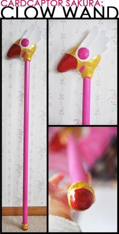 Cardcaptor Sakura: Clow Wand by wboutmystar.deviantart.com on @DeviantArt