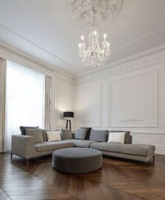 Interior Cravings - How to combine your love for modern decor with classical architecture