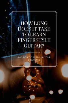 Ever wanted to start learning Fingerstyle guitar, but you just don't know what you're getting in to? Well in this guide I'm going to show you how long it takes, and I'm going to give you tips to make progress even faster! Guitar Chords For Songs, Guitar Tips, Music Guitar, Guitar Lessons, Playing Guitar, Learning Guitar, Guitar Exercises, Teaching Channel, Best Guitar Players