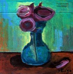 """Flowers"" - Original Fine Art for Sale - © Helen Königs"