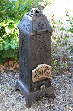 Antique Stoves France, I can picture this in my bedroom