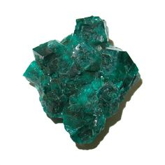 Green dioptase specimen from the Congo DRC