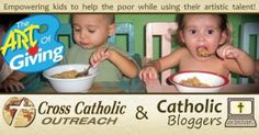 The ART of Giving: Kids Helping Kids | CatholicMom.com