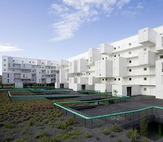 102 Dwellings Architecture in Carabanchel by dosmasuno