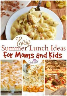 18 Crazy Easy Summer Lunch Ideas for Moms and Kids Lunch ideas for the summer that's easy! Easy summer lunch ideas that moms AND kids love! Plus an awesome giveaway to help you get summer started on the right foot! Lunch Ideas Kids At Home, Easy Lunches For Kids, Toddler Lunches, Easy Summer Meals, Quick Meals, Summer Recipes, Summer Lunches, Quick Easy Lunch Ideas, Kid Lunches