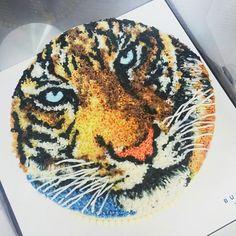 #flowercake #flower #buttercream #buttercreamcake #cupcake #cake #buttercake #dessert #korea #koreanflowercake #instafood #koreanstyle #cakedecorating #patisserie #art #instagram #foodstagram #flowerarrangement #flowers #花 #charactercake #tiger #design #cakeart