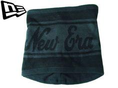 """【ニューエラ】【NEW ERA】ネックウォーマー """"New Era"""" ブラックXグレー フリーサイズ【NECK WALMER】【男女兼用】【black】【newera】【帽子】【メンズ】【防寒具】【NEW ERA】【ニット帽】【あす楽】【楽天市場】"""