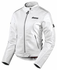 Icon Hella Leather Jacket - White Motorcycle Jackets 11a88fead4